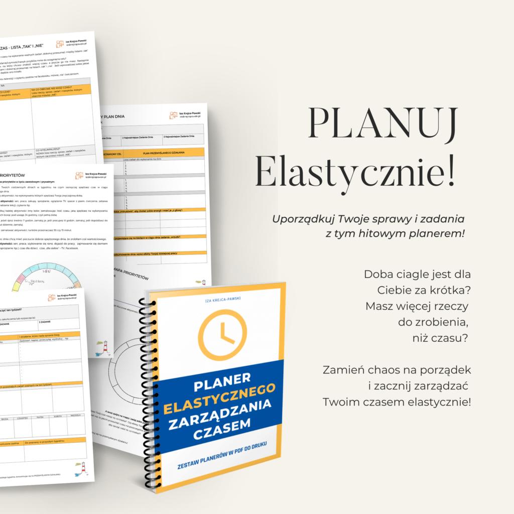 Planer Elastycznego Zarządzania Czasem w PDF